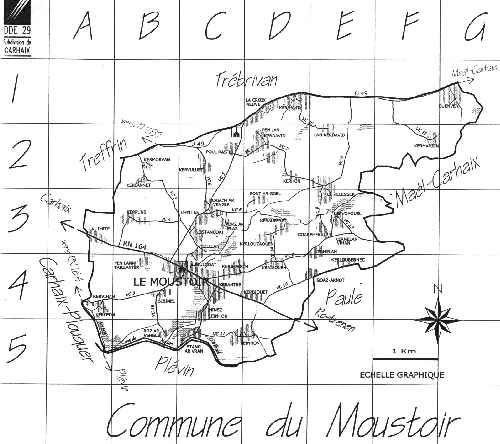 Plan du Moustoir